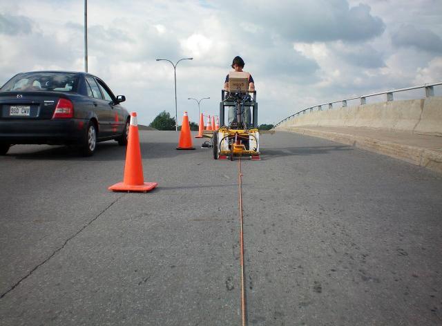 Ground Techniques Georadar roads and bridges